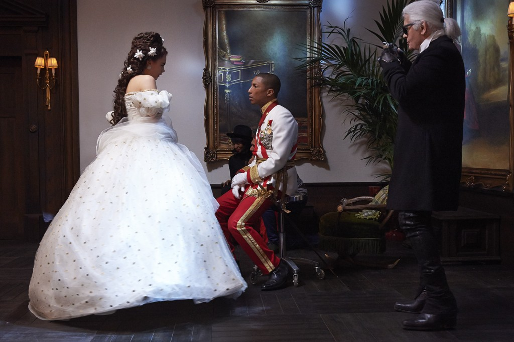 Chanel Reincarnation - Pharrell Williams and Cara Delevingne Loveweddingsng