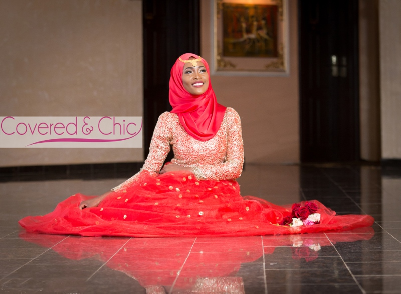 Covered and Chic Nigerian Muslim Bride Loveweddingsng2