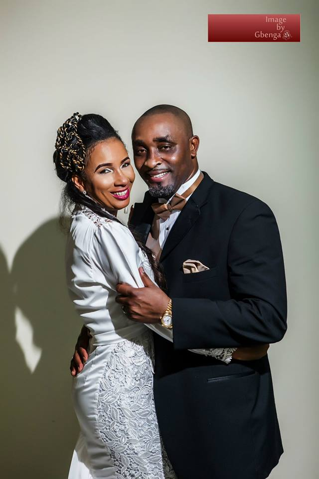 Ibinabo Fiberesimas White Wedding LoveweddingsNG