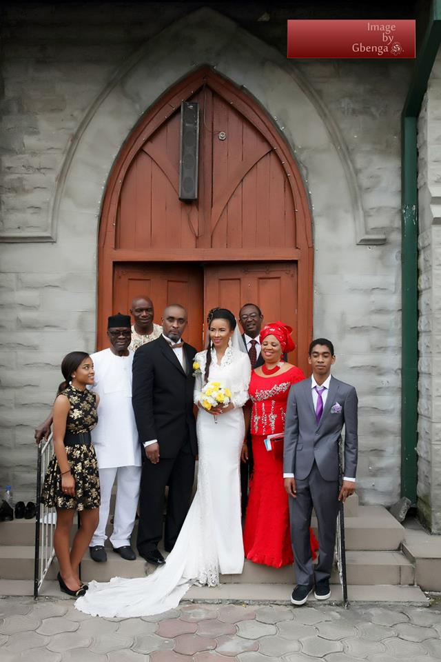 Ibinabo Fiberesimas White Wedding LoveweddingsNG7
