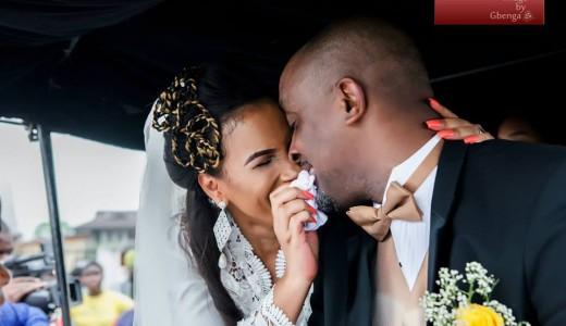 Ibinabo Fiberesimas White Wedding LoveweddingsNG8