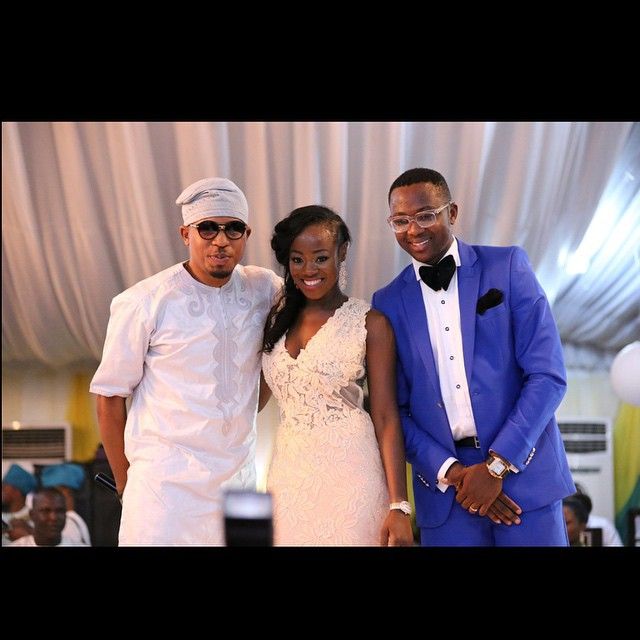 Regina's husband got Naeto C to perform as a surprise at their wedding