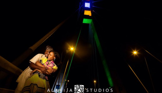 Nigerian Prewedding New Lekki Bridge Alakija Studios
