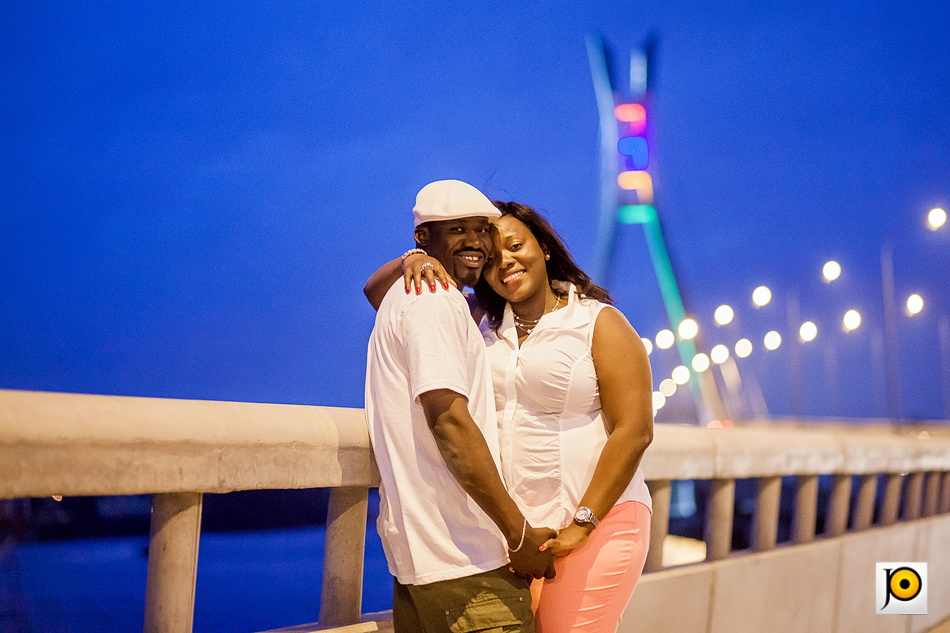 Nigerian Prewedding New Lekki Bridge - Jumoke and Omolewa JideOdukoya