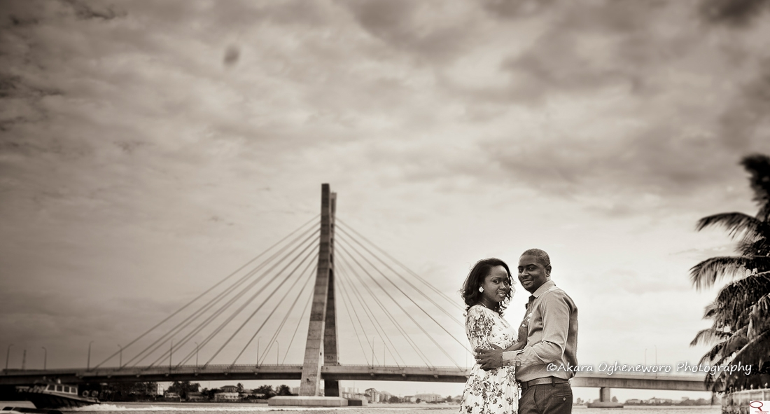 Nigerian Prewedding New Lekki Bridge Obidi Nene Akara Ogheneworo LoveweddingsNG