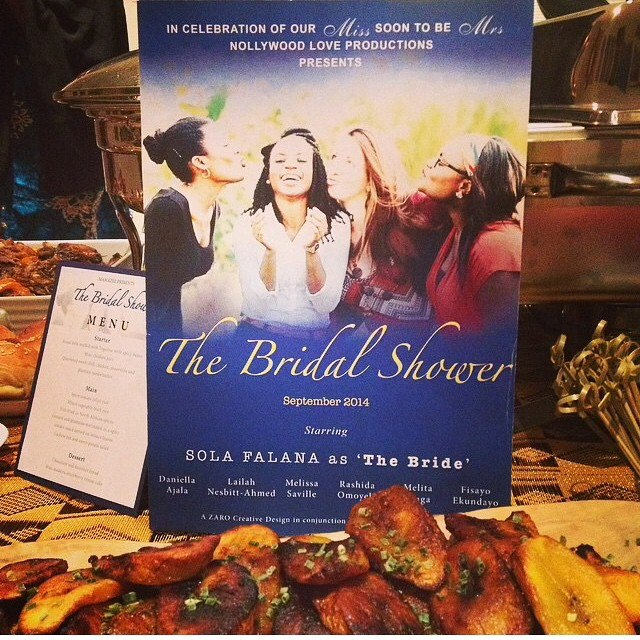Nollywood Themed Bridal Shower LoveweddingsNG