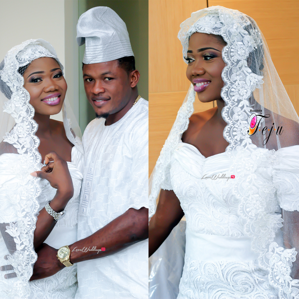 Super Eagles striker - Gbolahan Salami weds Ololade LoveweddingsNG2