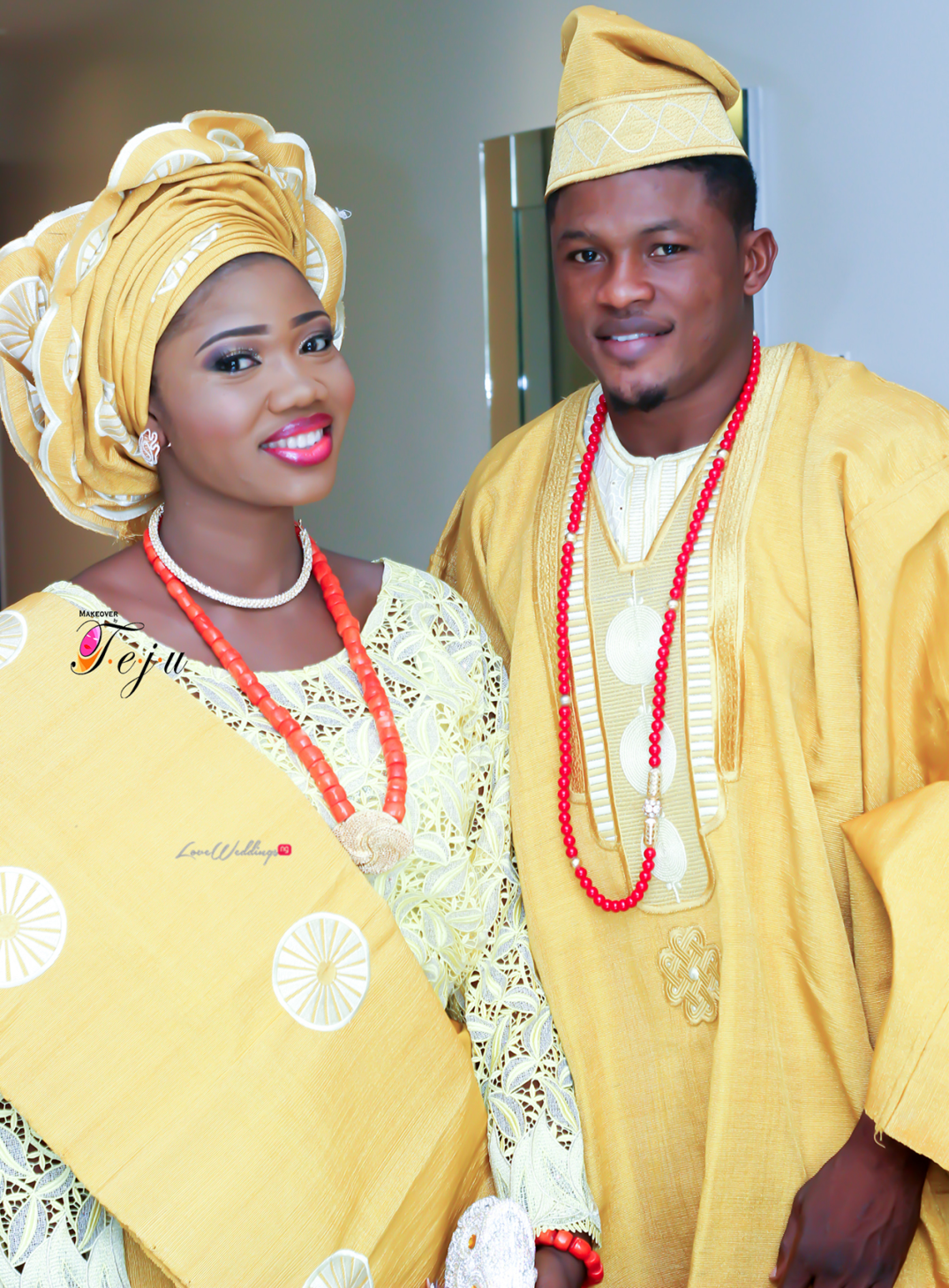 Super Eagles striker - Gbolahan Salami weds Ololade LoveweddingsNG4