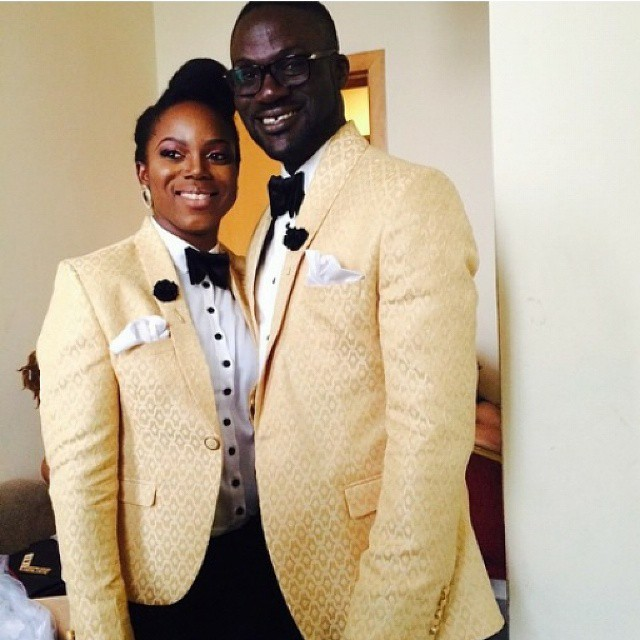 #TheBlacks2014: The groom had his 'twin sister' serve as his 'Best Man'