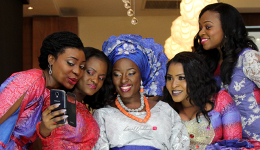 Dimeji Bankole Sister Mope Wedding LoveweddingsNG5