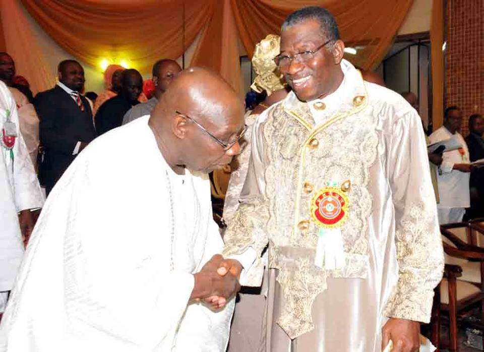 President jonathan child wedding