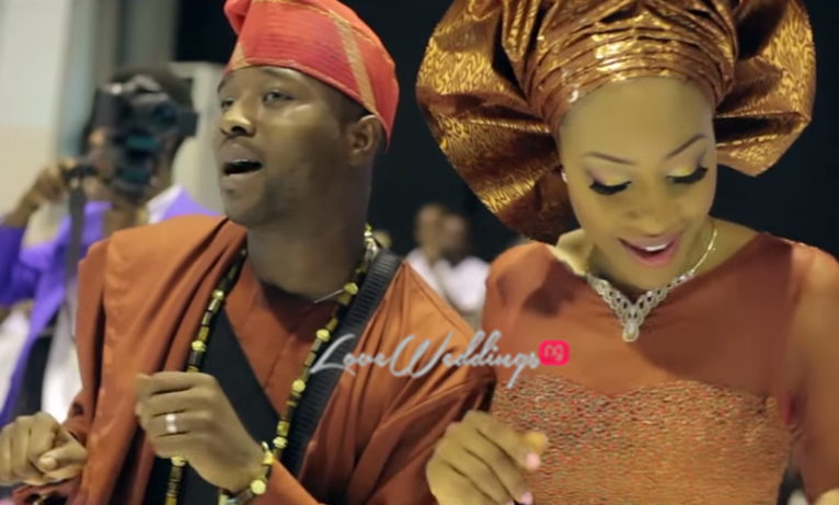 LoveweddingsNG Atinuke and Oladipupo feat