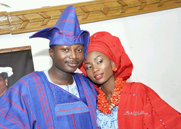 LoveweddingsNG Traditional Wedding Ade and Bunmi