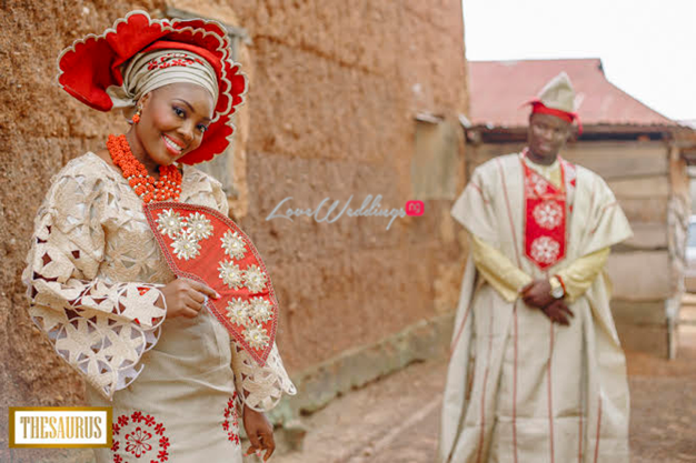 LoveweddingsNG Traditional Wedding Yetunde and Rotimi Thesaurus Studios30