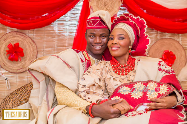LoveweddingsNG Traditional Wedding Yetunde and Rotimi Thesaurus Studios56