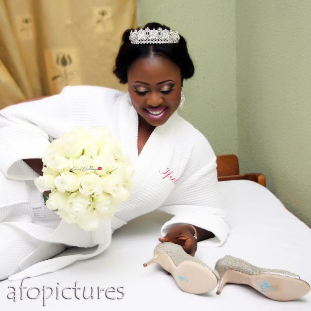 LoveweddingsNG White Wedding Ife and Tobi2