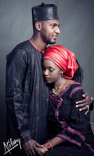 Magaji of Kaikai weds Zainab LoveweddingsNG3