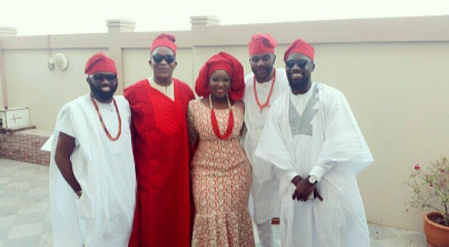 Michael Demuren Traditional Wedding - Olamide Adedeji. Segun Demuren, Noble Igwe, Ebuka, Toolz