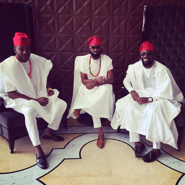 Michael Demuren Wedding Dubai - Ebuka, Noble Igwe, Olamide Adedeji