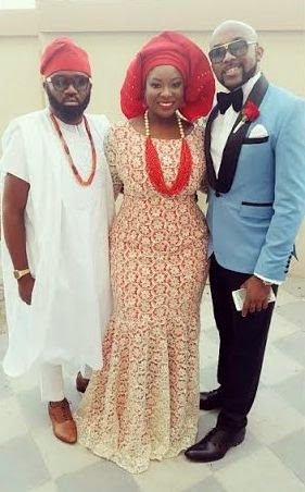 Michael Demuren Wedding Dubai - Noble Igwe, Toolz, Banky W