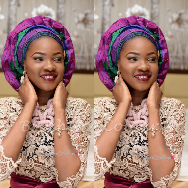 Nigerian Traditional Bride Brushes n Colors LoveweddingsNG10