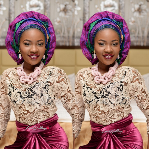 Nigerian Traditional Bride Brushes n Colors LoveweddingsNG11