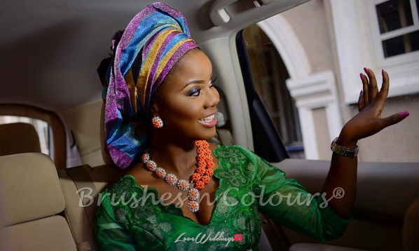 Nigerian Traditional Bride Brushes n Colors LoveweddingsNG19