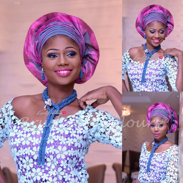 Nigerian Traditional Bride Brushes n Colors LoveweddingsNG2