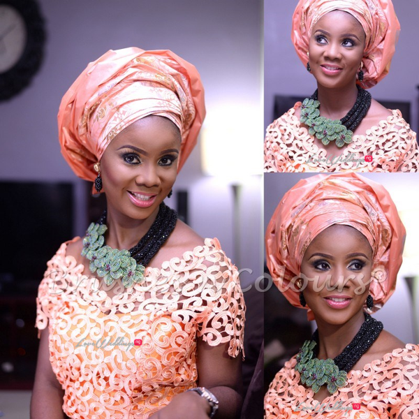 Nigerian Traditional Bride Brushes n Colors LoveweddingsNG25