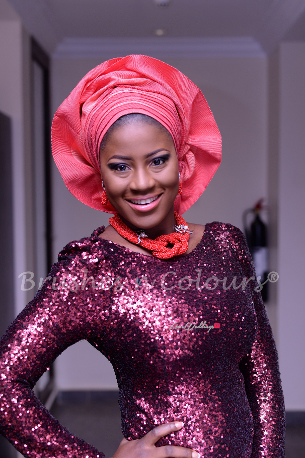 Nigerian Traditional Bride Brushes n Colors LoveweddingsNG8