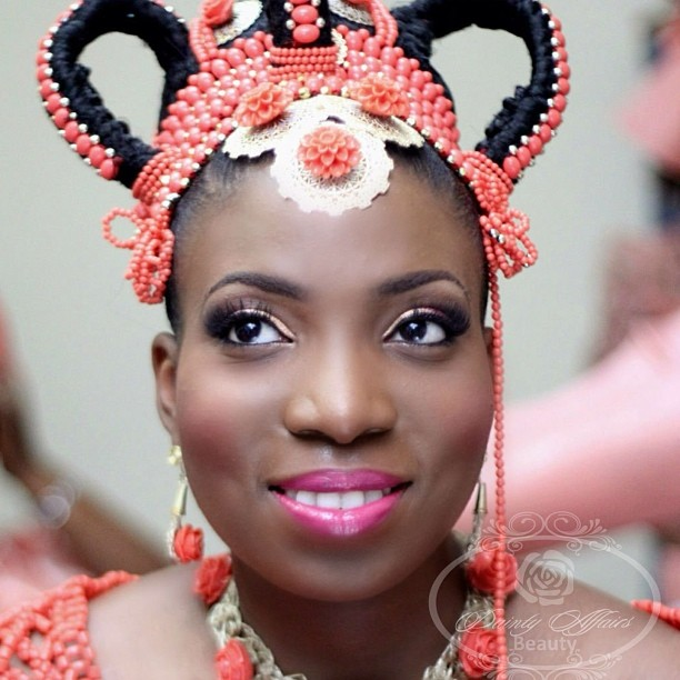 Nigerian Traditional Makeup - Dainty Affairs Beauty LoveweddingsNG