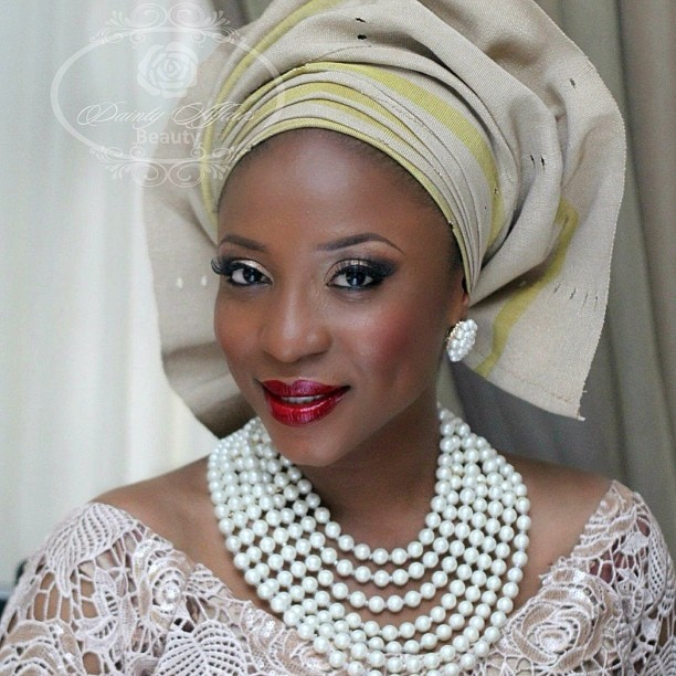 Nigerian Traditional Makeup - Dainty Affairs Beauty LoveweddingsNG1