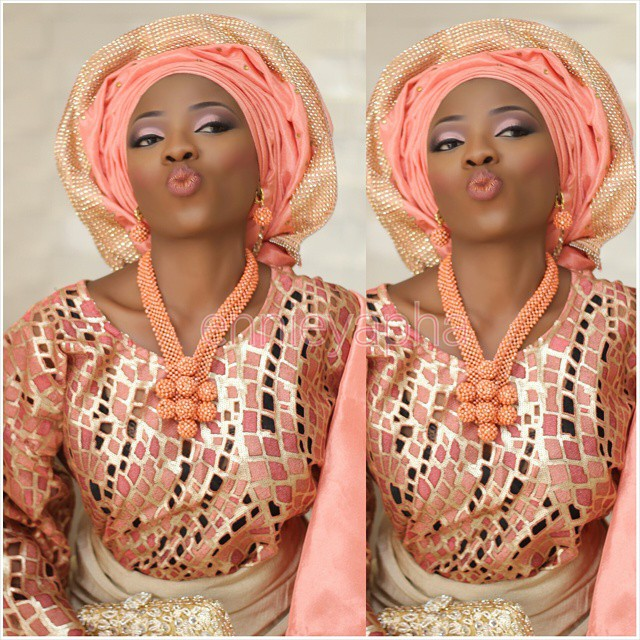Nigerian Traditional Makeup - Ennieyapha LoveweddingsNG