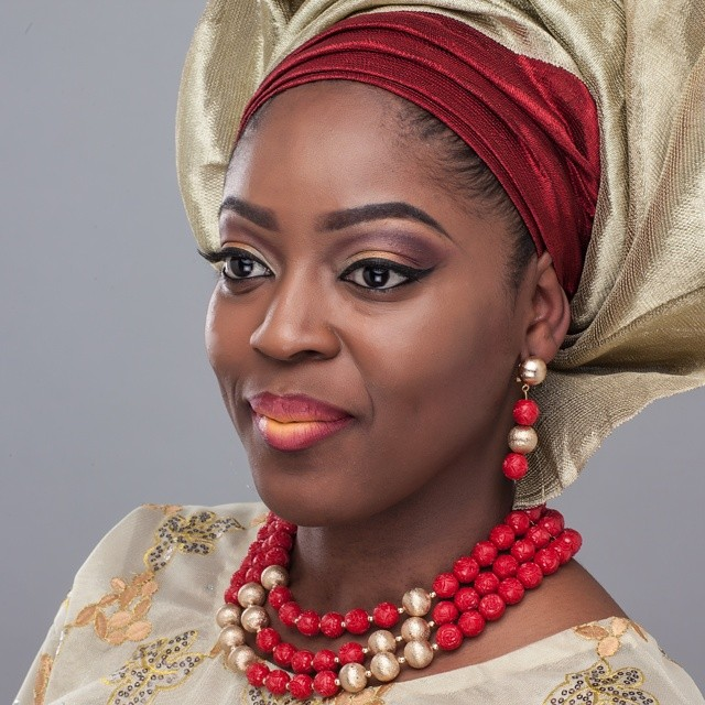 Nigerian Traditional Makeup - Faces of Bodin LoveweddingsNG1