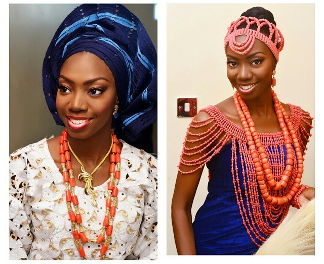 Nigerian Traditional Wedding Makeup - Abeke Makeovers LoveweddingsNG