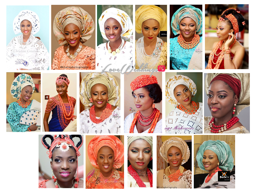 Nigerian Traditional Wedding Makeup Looks LoveweddingsNG