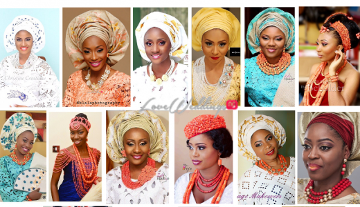 Nigerian Traditional Wedding Makeup Looks We Love LoveweddingsNG feat