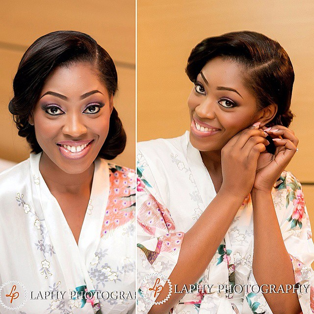 Nigerian White Wedding Makeup - Beauty and the Beholder Makeovers LoveweddingsNG1