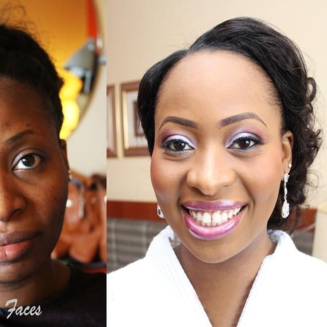 Nigerian White Wedding Makeup - Beyond Faces MUA LoveweddingsNG