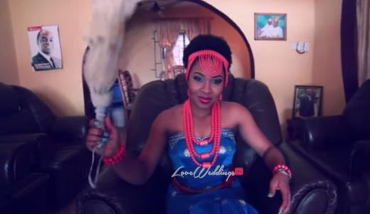 Nkiru Patrick Gollibe Flavour - LoveweddingsNG Samon Films