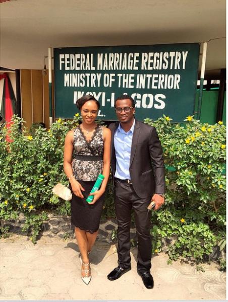 Paul and Anita Okoye ikoyi Registry LoveweddingsNG