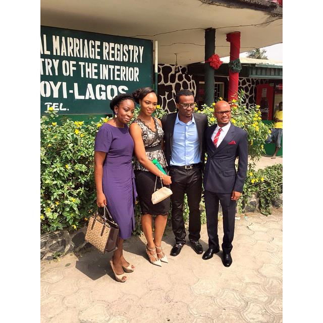 Paul and Anita Okoye ikoyi Registry LoveweddingsNG6