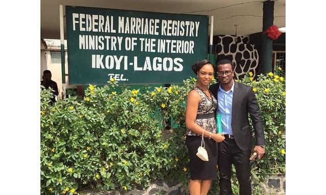 Paul and Anita Okoye ikoyi Registry LoveweddingsNG7