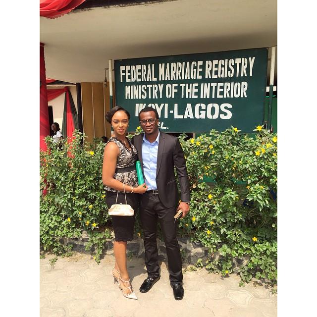Paul and Anita Okoye ikoyi Registry LoveweddingsNG8