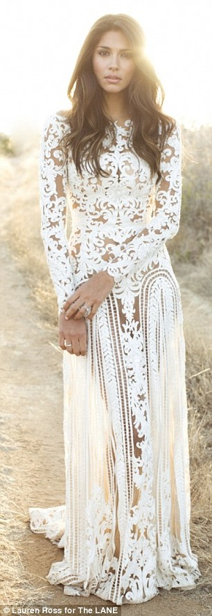 The Lane Bridal Wear - Megan Gale and Pia Miller LoveweddingsNG16