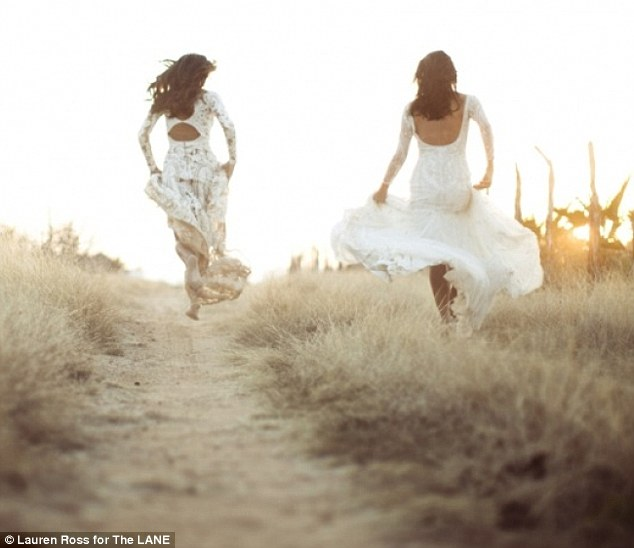 The Lane Bridal Wear - Megan Gale and Pia Miller LoveweddingsNG8