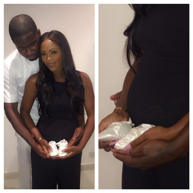 Tiwa Savage Pregnant LoveweddingsNG