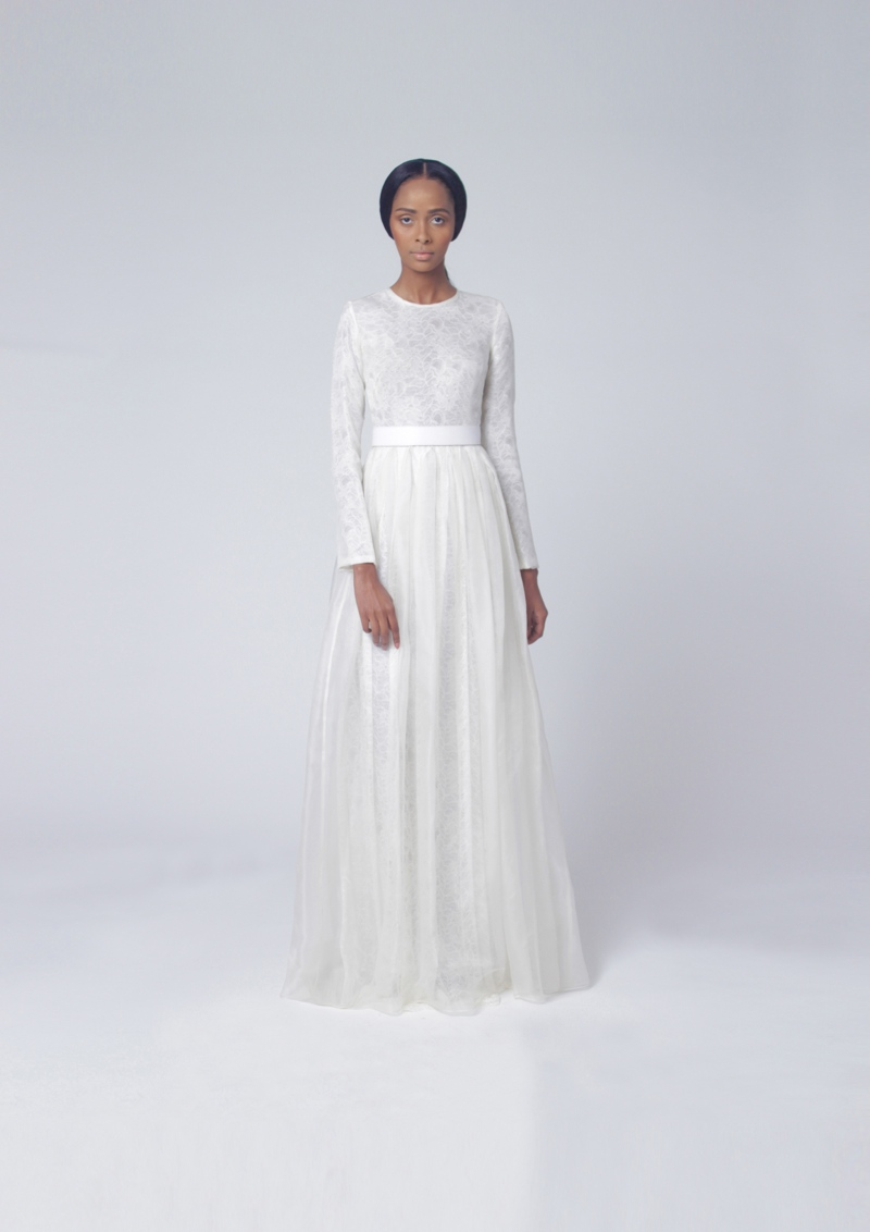 Tsemaye Binitie Atelier Bridal 2015 Capsule Collection LoveweddingsNG2