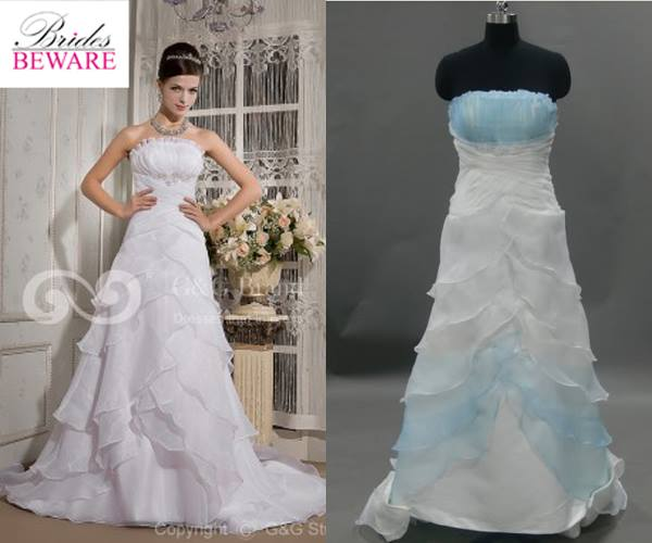 Wedding Dress - What You Ordered vs What Came1