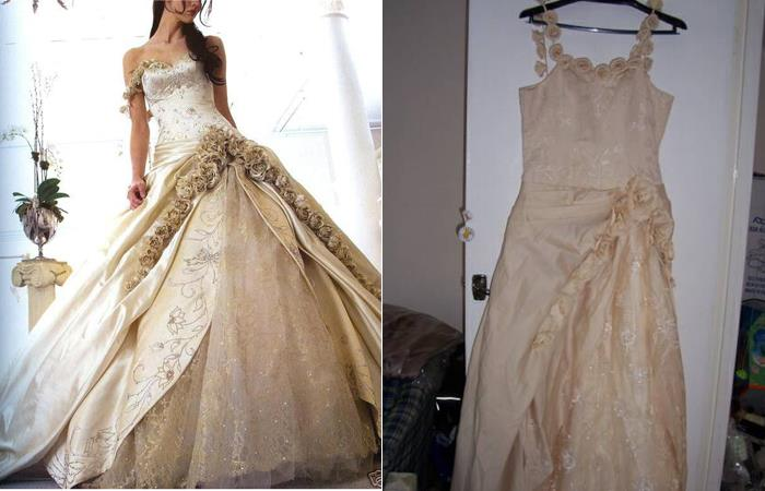 Wedding Dress - What You Ordered vs What Came10